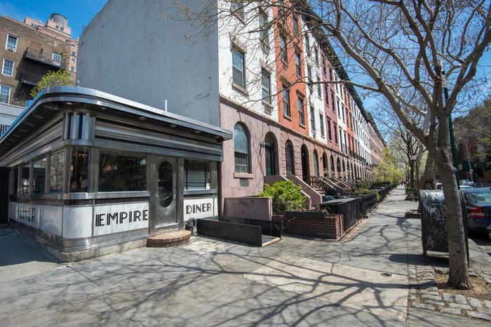 Nowy Jork, restauracja Empire Diner