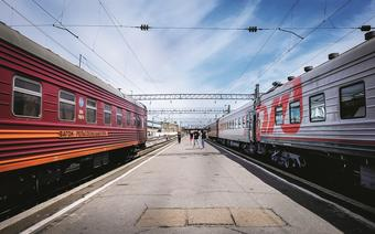 Rosja. Gdzie tory poniosą, czyli koleją nad Bajkał