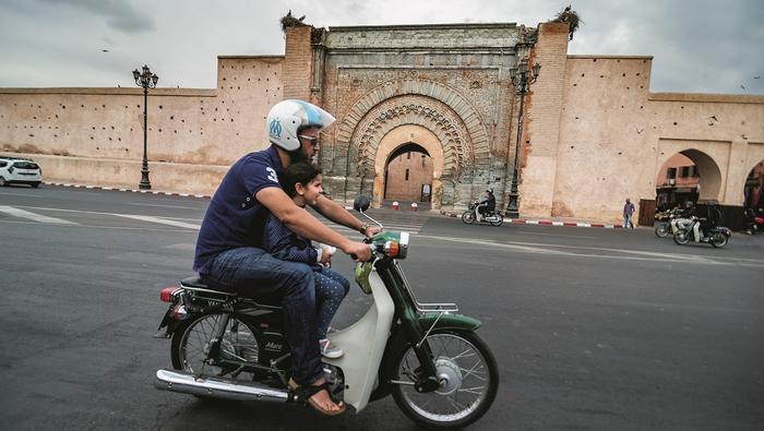 Bab Agnaou - najpiękniejsza z 19 bram starego miasta Marrakeszu