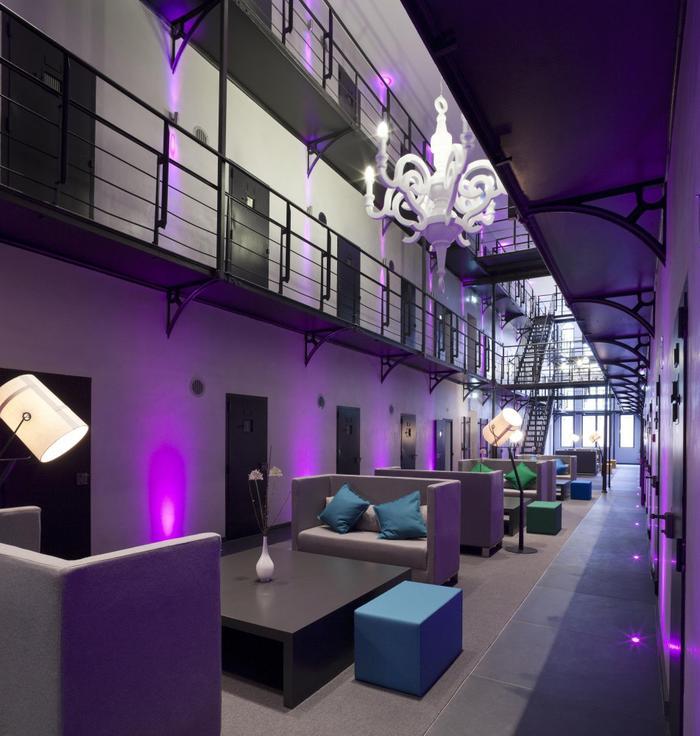 Holandia. Het Arresthuis  - hotel w budynku aresztu.
