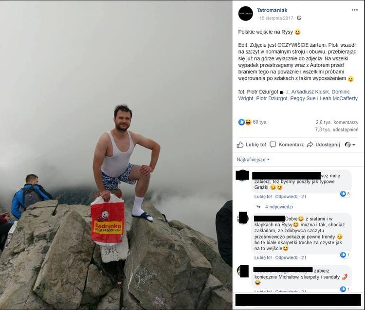 Nieodpowiedzialni turyści w polskich górach
