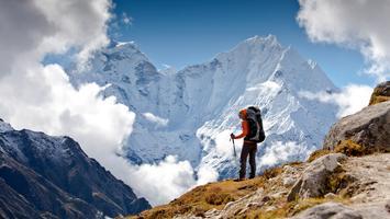 Himalaje widać teraz z 200 km! Pierwszy raz od lat [GALERIA]