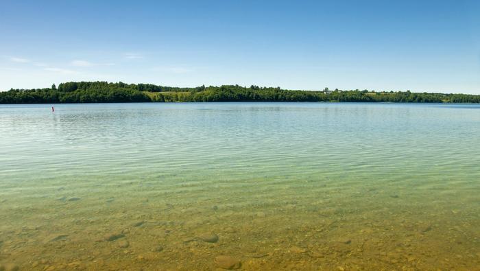 Hańcza, to najgłębsze jezioro w Polsce. Narazie. W Bełchatowie powstaje niemal dwa razy głębszy zbiornik