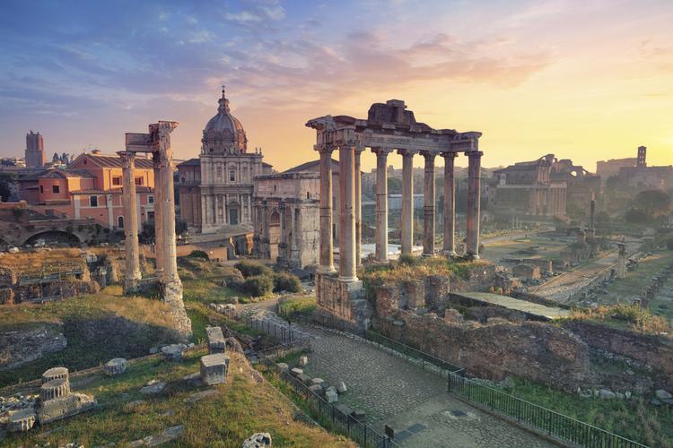 Rzym. Forum Romanum