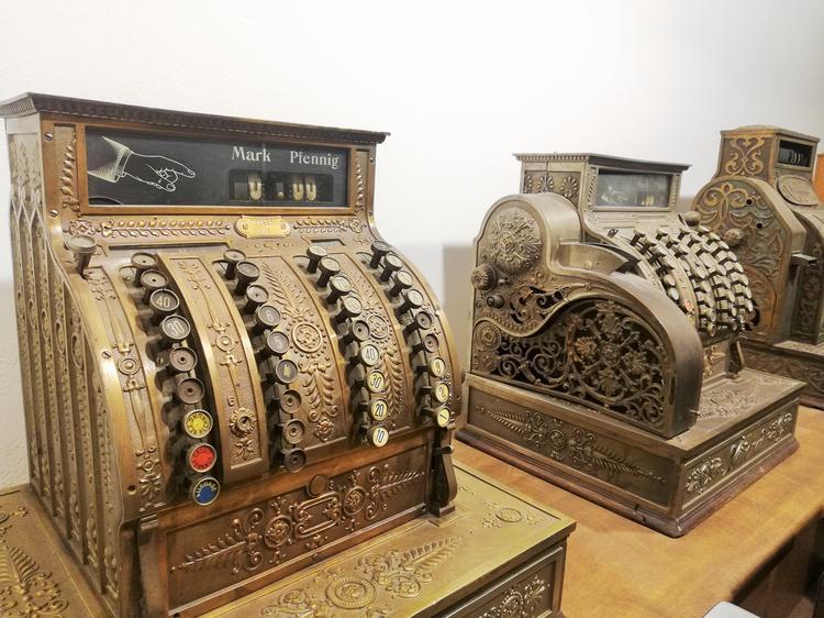 Muzeum Dawnego Kupiectwa. Kasy, które działały bez prądu!