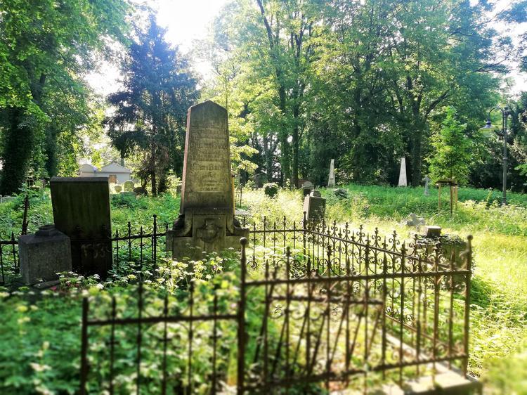 XVII-wieczny cmentarz przy Kościele Pokoju