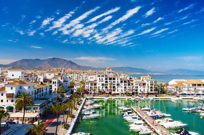 Costa del Sol, Andaluzja, Hiszpania