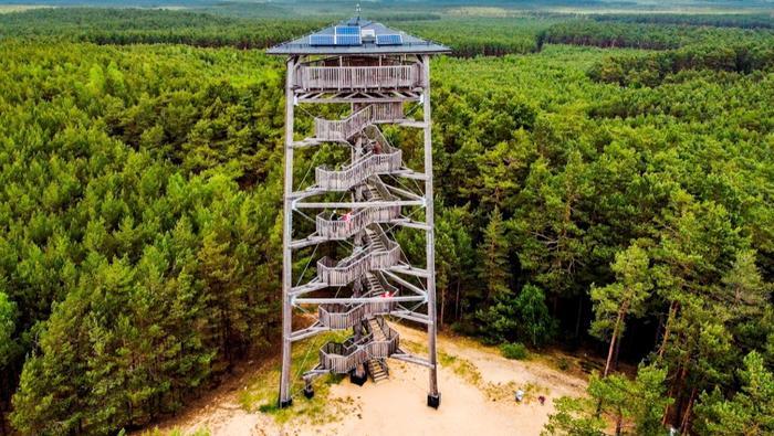 Wieża widokowa w Świętnie