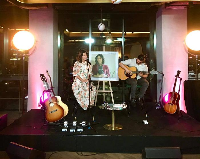 Katie Melua podczas koncertu w The Roof w Warszawie