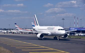 Samolot lini Airfrance