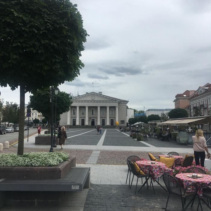 Wilno, Plac Ratuszowy