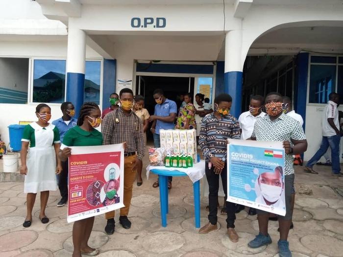 Ghana, przekazanie masek dla kolejnego szpitala