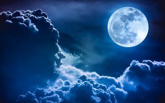 Pełnia księżyca, zdjęcie ilustracyjne