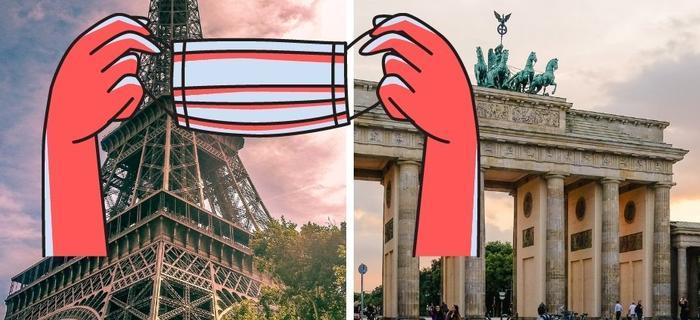 Francja i Niemcy wprowadzają lockdown