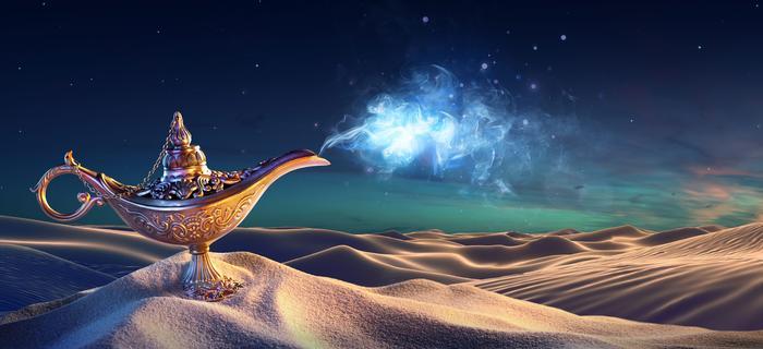 Indie. Lekarz uwierzył w magiczną moc lampy/ zdjęcie ilustracyjne