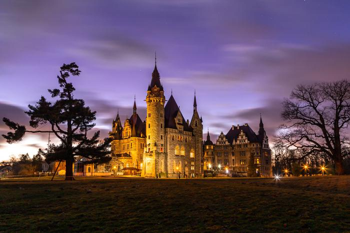 Zamek w Mosznej - ciekawostki