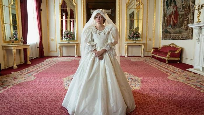 Kadr z serialu The Crown