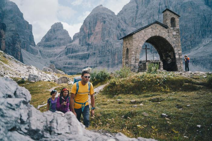 Dolomiti Brenta Trek - jedna z tras trekingowych w Dolomitach