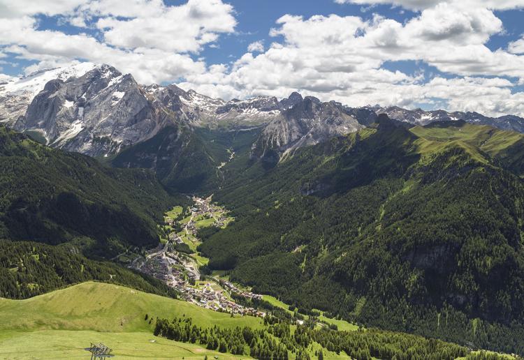 Trasa rowerowa - Val di Fassa