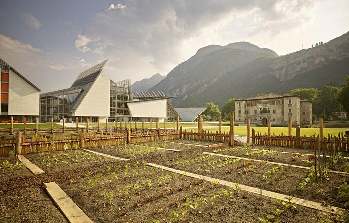 MuSe di Trento - muzeum nauki w Trydencie zostało zaprojektowane przez architekta Renzo Piano