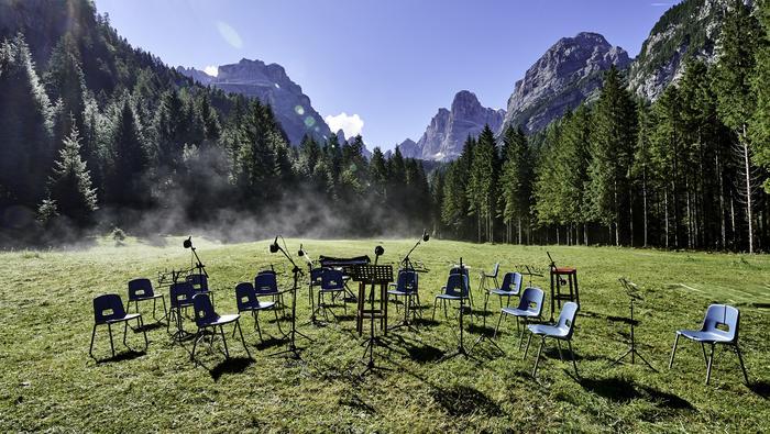 Dźwięki Dolomitów - koncerty odbywają się na trasie Dolomiti di Brenta