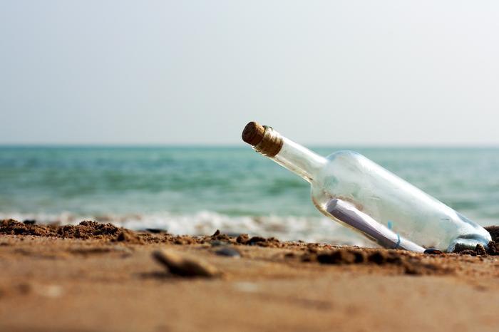 list w butelce/zdjęcie poglądowe