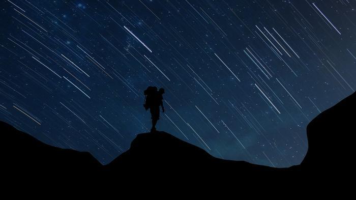 Noc spadających gwiazd w lipcu/ zdjęcie ilustracyjne