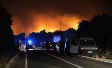 Pożary na Sardynii