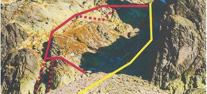 Pierwsza w tatrach via ferrata powstała po słowackiej stronie gór - na szlaku prowadzącym z Doliny Pięciu Stawów Spiskich do Doliny Staroleśnej