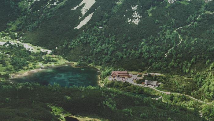 Tatry. Zielony Staw Kieżmarski