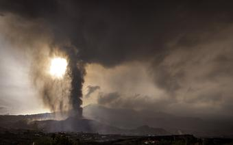 Erupcja wulkanu na La Palmie